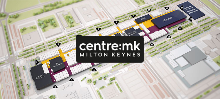 CONTRACT WIN – CENTRE:MK SHOPPING CENTRE COMPLEX