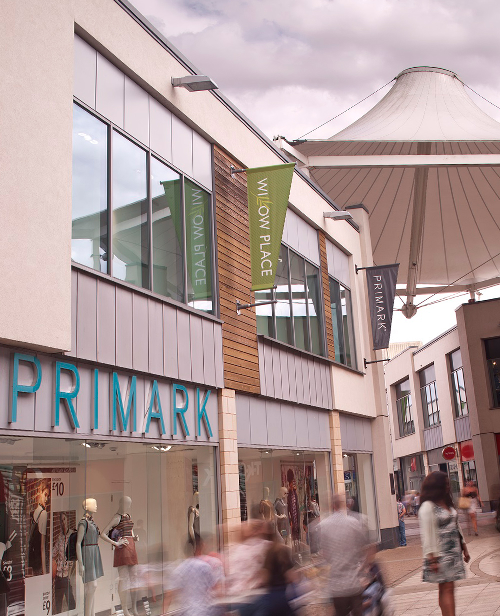 CONTRACT WIN – WILLOW PLACE SHOPPING CENTRE, CORBY